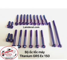 Bộ ốc lốc máy GR5 Exciter 150