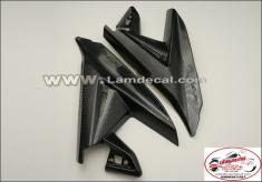 Ốp gác chân sau cacbon 3d airblade 2013